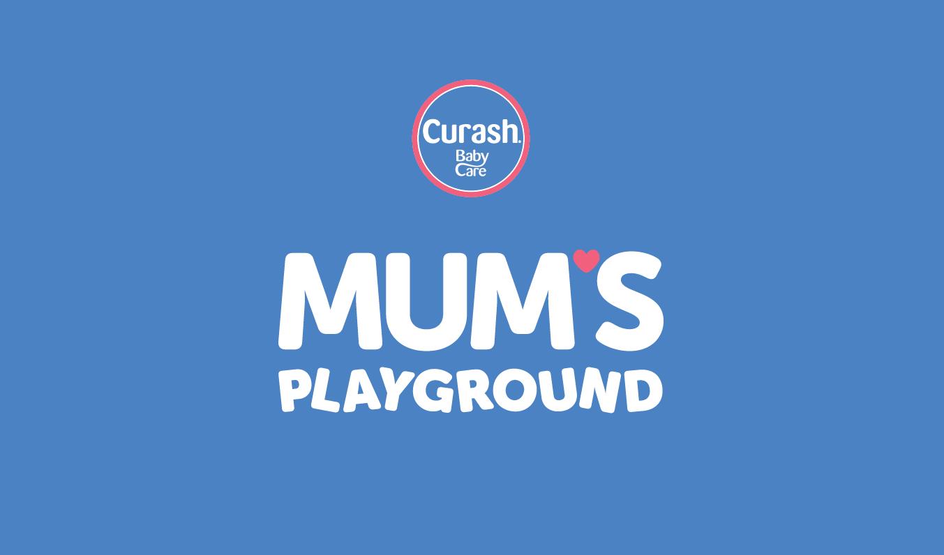 Curash 'Mum's Playground' Mobile App Design